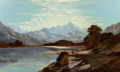 Paintings, ALFRED DE BRÉANSKI (British, 1852-1928). Devoke Water, Cumberland, 1886. Oil on canvas. 30 x 50-1/2 inches (76.2 x 128.3...