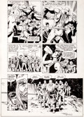 Original Comic Art:Panel Pages, Brian Bolland and Terry Austin Camelot 3000 #7 Page 17Original Art (DC, 1983)....