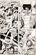 Original Comic Art:Panel Pages, Jack Kirby and Vince Colletta Thor #164 Page 9 Original Art(Marvel, 1969)....