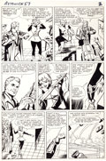 Original Comic Art:Panel Pages, Dick Ayers and Paul Reinman Tales to Astonish #57 Page 2Hank Pym and the Wasp Original Art (Marvel, 1964)....
