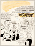 Original Comic Art:Splash Pages, Curt Swan and George Klein Action Comics #304 Splash Page 1Original Art (DC, 1963)....