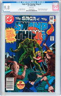 Modern Age (1980-Present):Superhero, Saga of the Swamp Thing #1 (DC, 1982) CGC NM/MT 9.8 White pages....