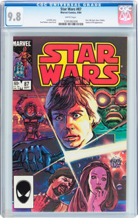 Star Wars #87 (Marvel, 1984) CGC NM/MT 9.8 White pages