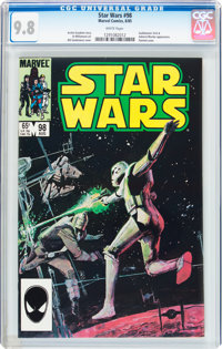 Star Wars #98 (Marvel, 1985) CGC NM/MT 9.8 White pages