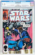 Modern Age (1980-Present):Science Fiction, Star Wars #99 (Marvel, 1985) CGC NM/MT 9.8 White pages....