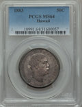 Coins of Hawaii, 1883 50C Hawaii Half Dollar MS64 PCGS....