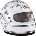 Miscellaneous Collectibles:General, 1991 Bell Helmet Signed by Indianapolis 500 Starting Field....