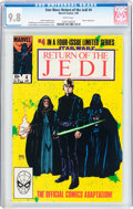 Modern Age (1980-Present):Science Fiction, Star Wars: Return of the Jedi #4 (Marvel, 1984) CGC NM/MT 9.8 Whitepages....