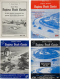Miscellaneous Collectibles:General, 1950-53 Daytona Beach Programs Lot of 4....