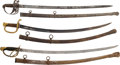 Edged Weapons:Swords, Lot of Three 19th Century U.S. Swords.... (Total: 3 Items)
