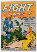 Golden Age (1938-1955):War, Fight Comics #21 (Fiction House, 1942) Condition: FN-....