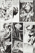 "Original Comic Art:Panel Pages, Bernie Wrightson Swamp Thing #1 ""Dark Genesis"" Page 20Original Art (DC, 1972)...."