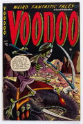 Golden Age (1938-1955):Horror, Voodoo #11 (Farrell, 1953) Condition: Apparent VG+....