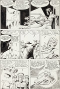 Original Comic Art:Panel Pages, Steve Ditko Tales to Astonish #44 Page 30 Original Art(Marvel, 1963)....
