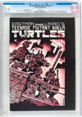 Modern Age (1980-Present):Superhero, Teenage Mutant Ninja Turtles #1 Second printing (Mirage Studios,1984) CGC VF/NM 9.0 White pages....