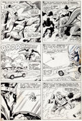 Original Comic Art:Panel Pages, Jack Kirby and Joe Sinnott Fantastic Four #44 Page 10Medusa, Gorgon, and Dragon Man Original Art (Marvel, 1965)....