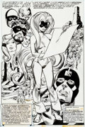 Original Comic Art:Splash Pages, Gil Kane and Frank Chiaramonte Inhumans #6 Splash Page 17Original Art (Marvel, 1976)....