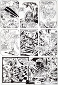 Original Comic Art:Panel Pages, Rich Buckler and Joe Sinnott Fantastic Four #156 Page 2Original Art (Marvel, 1975)....