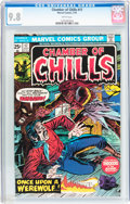 Bronze Age (1970-1979):Horror, Chamber of Chills #17 (Marvel, 1975) CGC NM/MT 9.8 White pages....