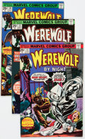 Bronze Age (1970-1979):Horror, Werewolf by Night #32-43 Group (Marvel, 1974-77) Condition: AverageVF.... (Total: 17 Comic Books)