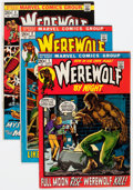 Bronze Age (1970-1979):Horror, Werewolf by Night Group (Marvel, 1972-75) Condition: Average VFexcept as noted.... (Total: 31 Comic Books)