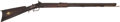 Long Guns:Muzzle loading, Half Stock Percussion Plains Rifle....