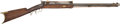Long Guns:Muzzle loading, Unmarked Half Stock Percussion Plains Rifle with TelescopicSight....