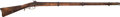 Long Guns:Muzzle loading, Unmarked Full Stock Percussion Musket....