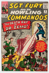 Sgt. Fury and His Howling Commandos #8 (Marvel, 1964) Condition: VF-