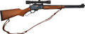 Long Guns:Lever Action, Marlin Model 336W Lever Action Rifle with Telescopic Sight....