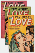 Golden Age (1938-1955):Romance, Ten-Story Love #1-6 Group (Ace, 1952-54) Condition: AverageVG/FN.... (Total: 9 Comic Books)