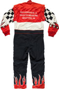 Miscellaneous Collectibles:General, Circa 2000 Brad Marvel Race Worn Fire Suit....