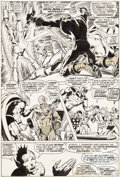 "Original Comic Art:Panel Pages, Neal Adams and Tom Palmer Avengers #95 ""Something InhumanThis Way Comes..."" Page 5 Original Art (Marvel, 1972)...."
