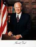 Autographs:U.S. Presidents, Gerald Ford Signed Photograph....