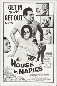 "The Runaways (Peppercorn-Wormser, R-1970). One Sheet (27"" X 41""). Drama. Reissue Title: House in Naples"