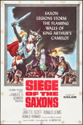 "Movie Posters:Adventure, Siege of the Saxons & Others Lot (Columbia, 1963). One Sheets(3) (27"" X 41""). Adventure.. ... (Total: 3 Items)"