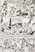 "Original Comic Art:Panel Pages, Jack Kirby Western Tales #31 ""Devil Rapids"" Page 3 Original Art (Harvey, 1955)...."