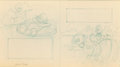 Original Comic Art:Miscellaneous, Carl Barks The Lemonade King Preliminary Original Art(Whitman, 1960)....