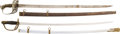 Edged Weapons:Swords, Lot of Two 19th Century U.S. Officers' Swords.... (Total: 2 Items)