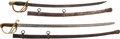 Edged Weapons:Swords, Pair of 19th Century U.S. Swords.... (Total: 2 Items)