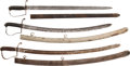 Edged Weapons:Swords, Lot of Three Nathan Starr Contract Sabers.... (Total: 3 Items)