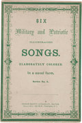 Books:Americana & American History, Six Military and Patriotic Illustrated Songs....