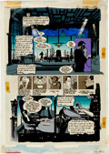 Original Comic Art:Miscellaneous, Joe Matt Batman/Grendel: Devil's Masque #2 Production Art(DC, 1993). ...