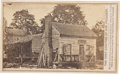 Photography:CDVs, Carte de Visite of Andrew Johnson's Former Residence in Tennessee....