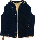 Military & Patriotic:Civil War, Civil War Vest With Louisiana Buttons....