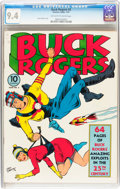 Golden Age (1938-1955):Science Fiction, Buck Rogers #2 (Eastern Color, 1941) CGC NM 9.4 Off-white to whitepages....