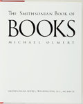 Books:Books about Books, Michael Olmert. The Smithsonian Book of Books. Washington, D. C.: Smithsonian Books, 1992....