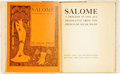 Books:Literature Pre-1900, Oscar Wilde. Salome. London: John Lane, The Bodley Head,1906....