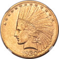 Indian Eagles, 1920-S $10 MS61+ NGC....