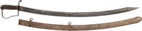 Nathan Starr 1812-1813 Contract Cavalry Saber